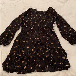 New floral dress size L